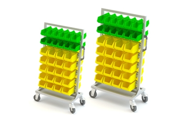 Bin Tool Trolley Manufacturer in Ahmedabad.