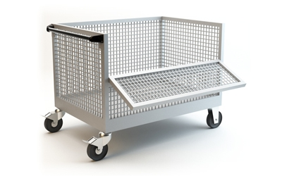 Industrial Trolley Exporter in India.