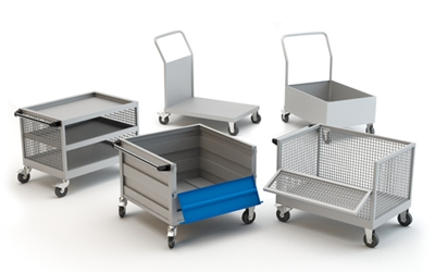 Material Tool Trolley Exporter in India.